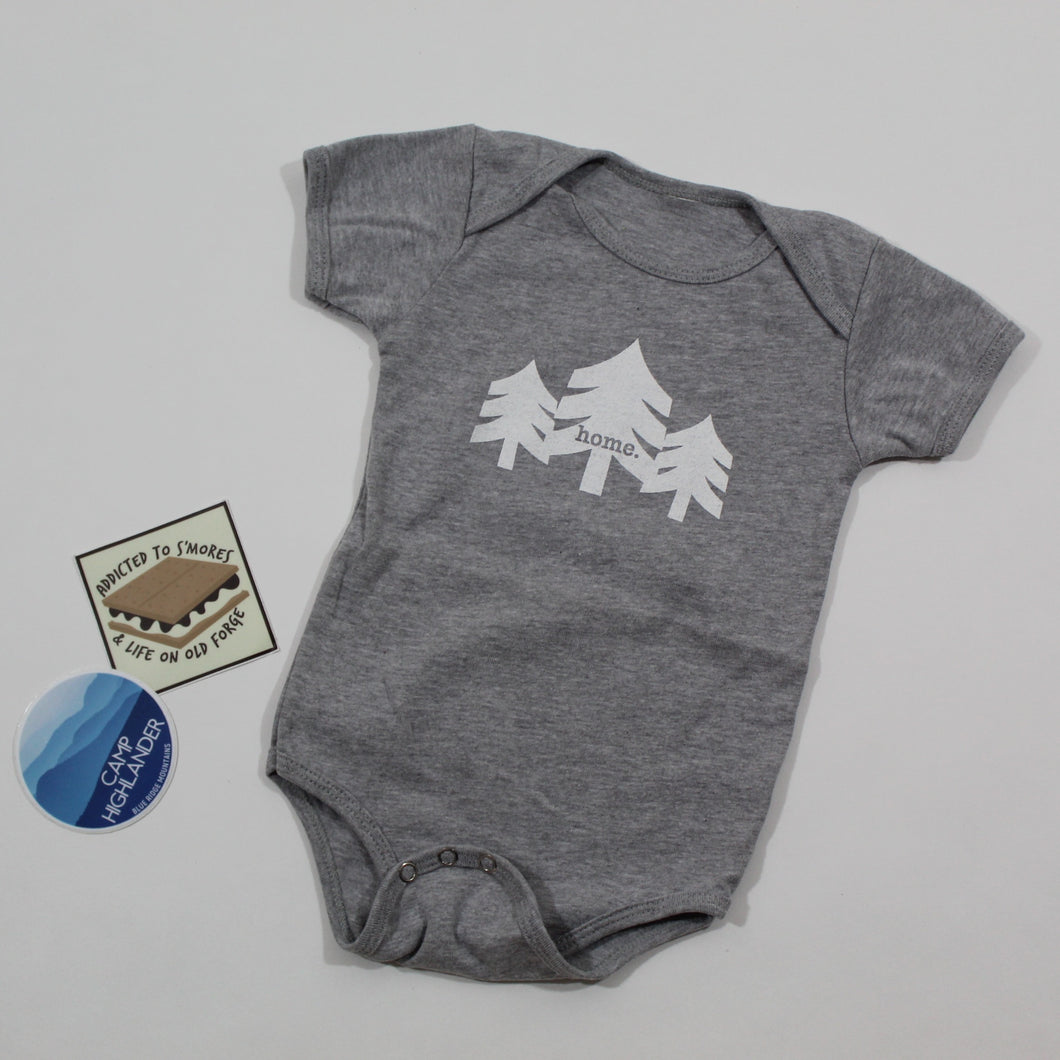 Three Trees Infant Onesie