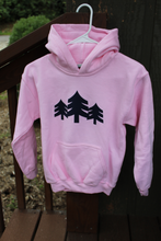Load image into Gallery viewer, Youth Three Trees Hoodie