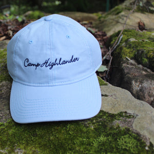 Light Blue with Navy Stitch