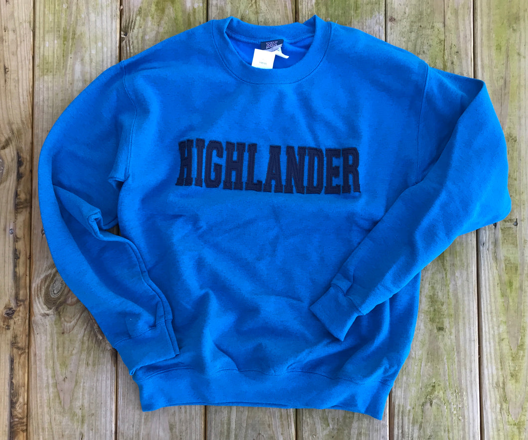 Adult Navy Stitch  Classic Pull Over
