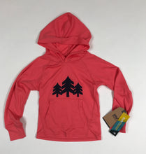 Load image into Gallery viewer, Youth Hooded Sunshirt with CH 3-Trees