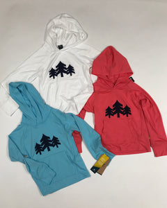 Youth Hooded Sunshirt with CH 3-Trees