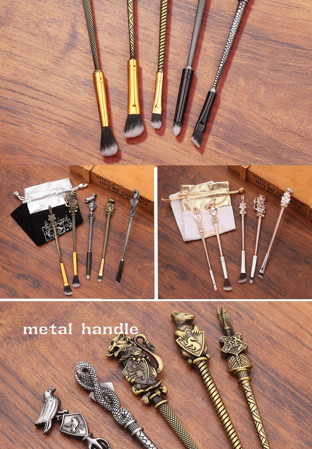 Harry Potter Inspired  Makeup Brush Set - Panashe Essence