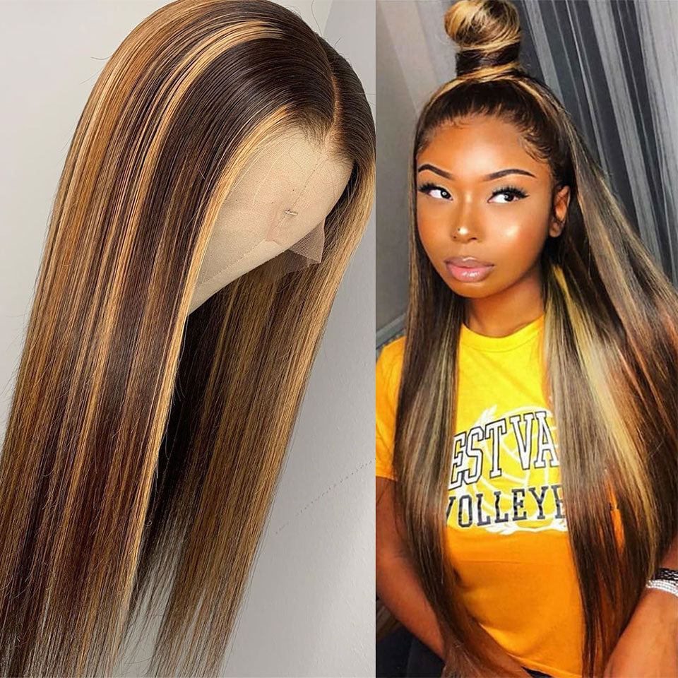 Honey Blonde Lace Front Wigs - Panashe Essence
