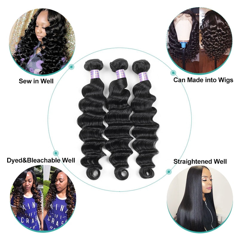 Loose Deep Wave Bundles - Panashe Essence