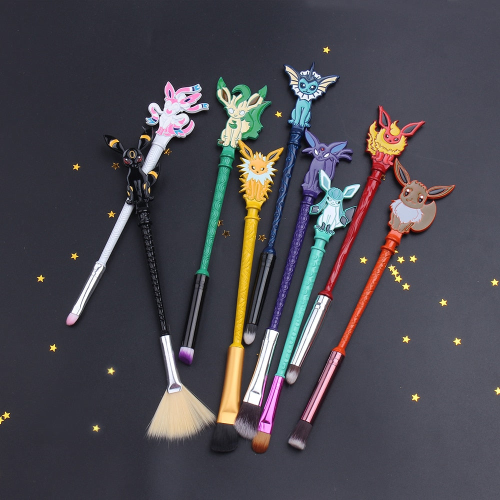 2021 Pokémon Makeup Brush  Kit - Panashe Essence