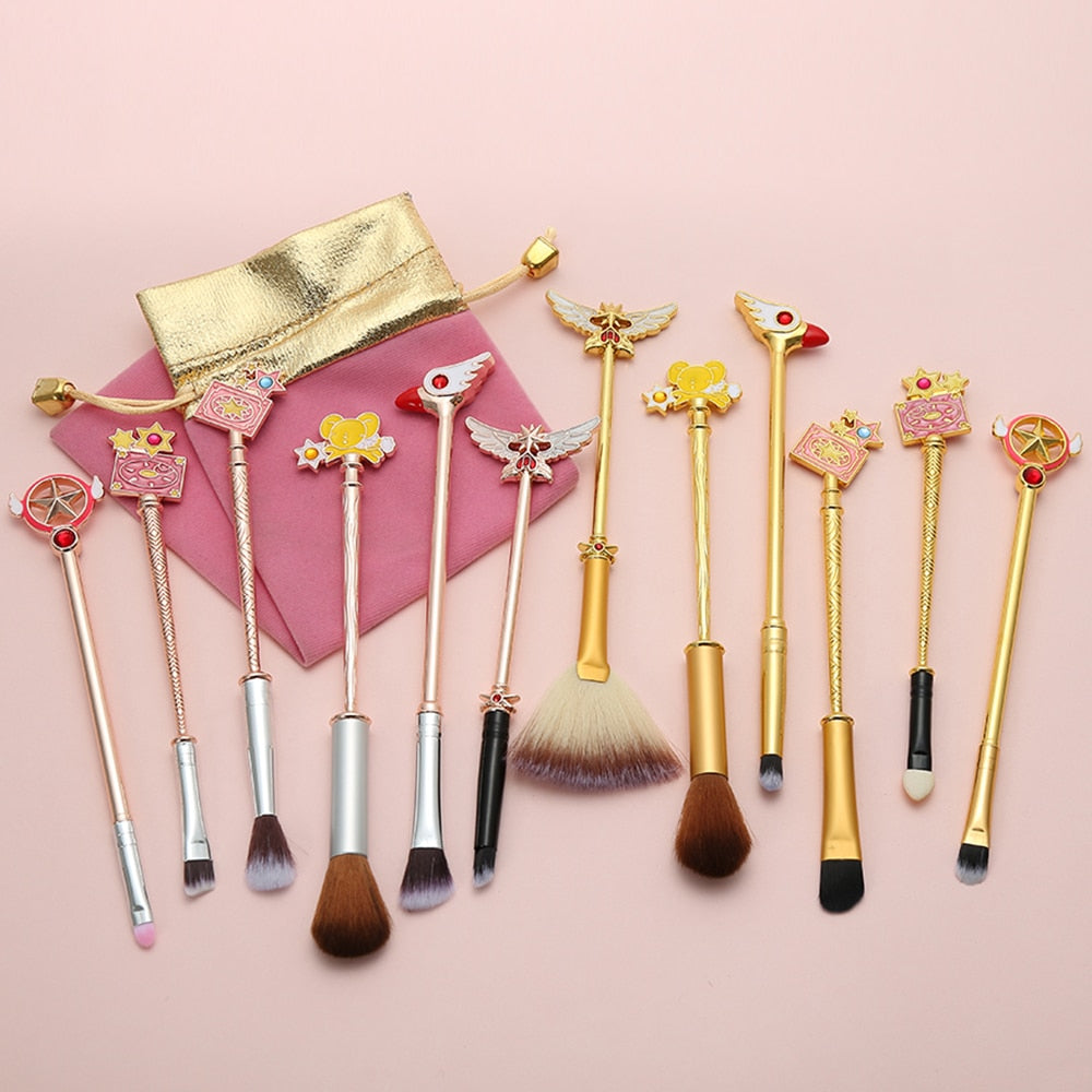 New 2021 Cardcaptor Sakura Anime Makeup Brush set - Panashe Essence