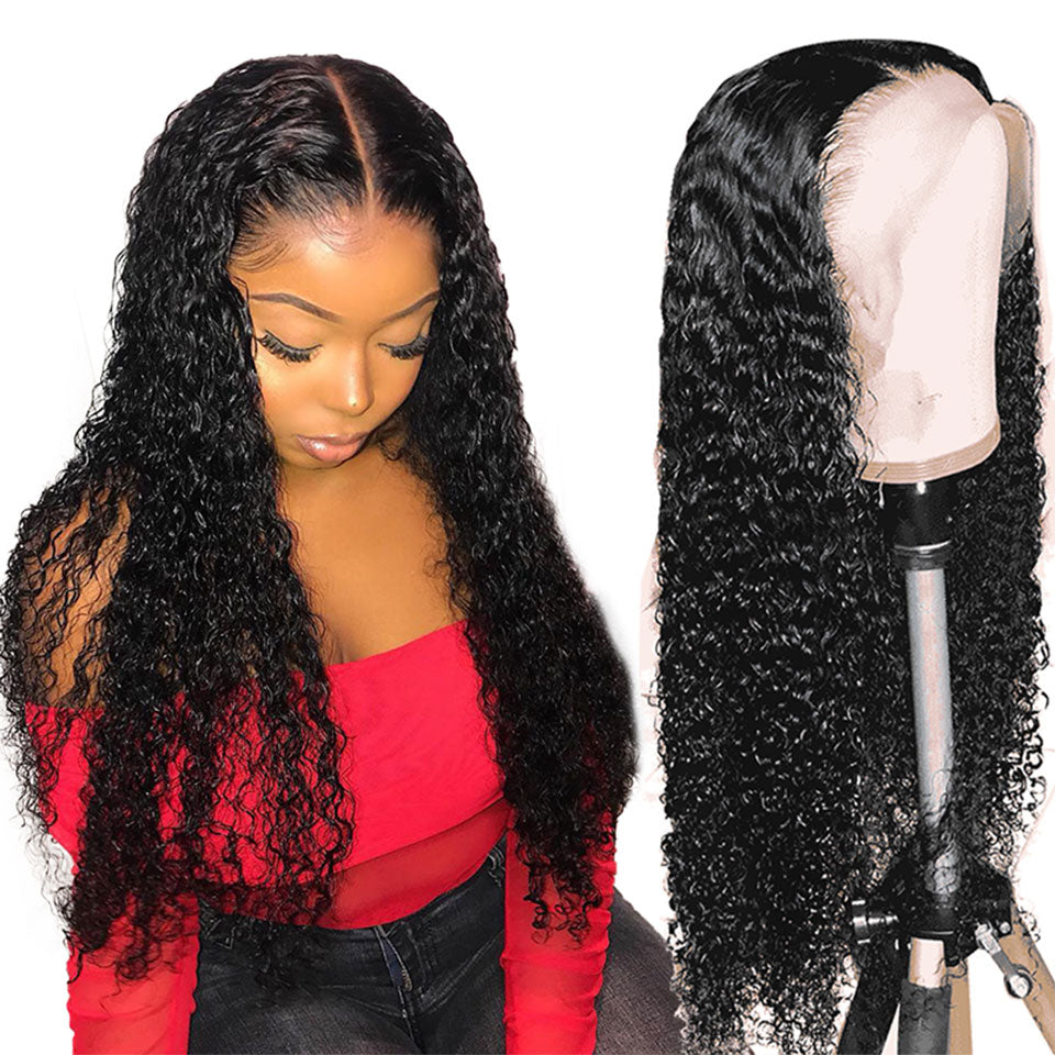 Curly Brazilian Deep Wave Lace Front Wing - Panashe Essence