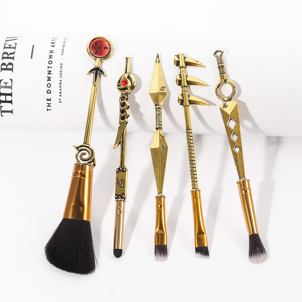 2021 Classic  Naruto Anime  Makeup Brush Set - Panashe Essence