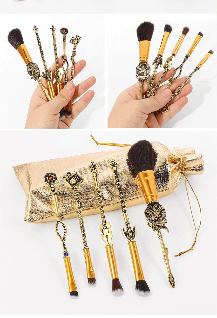 2021 New Jojos Bizarre Adventure Makeup Brush Set - Panashe Essence