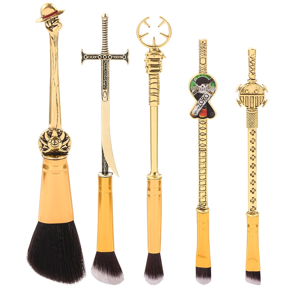 2021 Classic One Piece Anime Makeup Brush Set - Panashe Essence