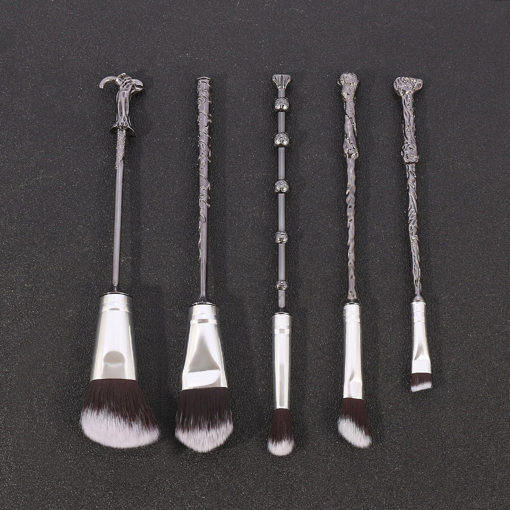 Harry Potter Wands Makeup Brush Set - Panashe Essence