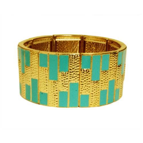 GOLD LT. BLUEBRACELET