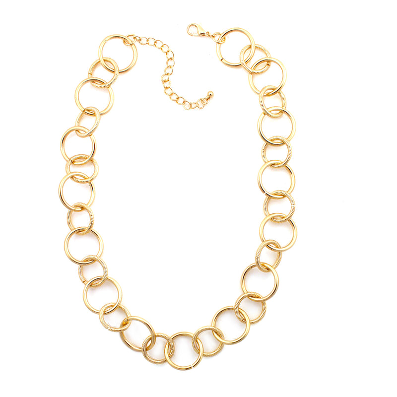 Gold-Tone Metal Necklace