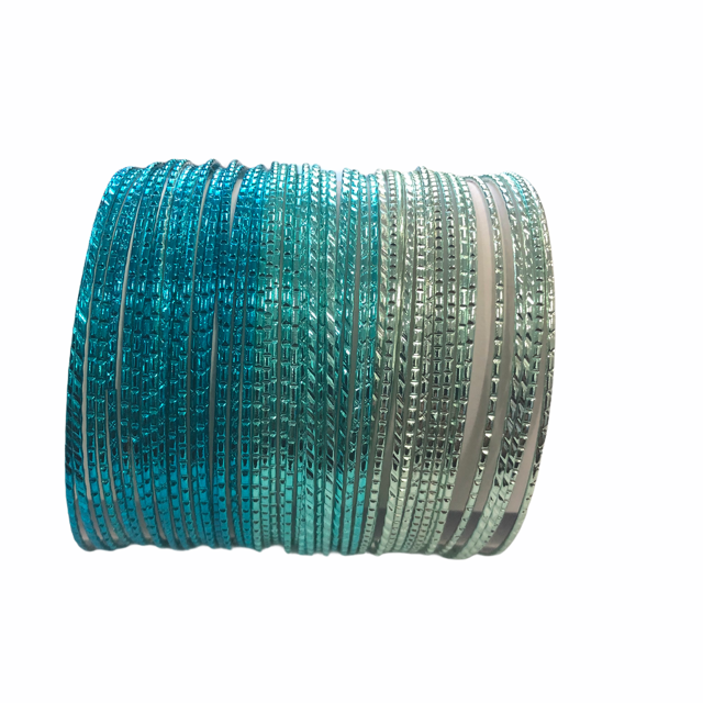 SET OF 50 PCS METAL BANGLES