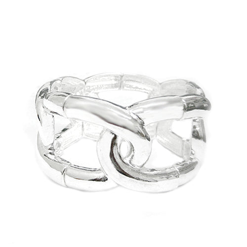 SILVER HINGED BRACELETS