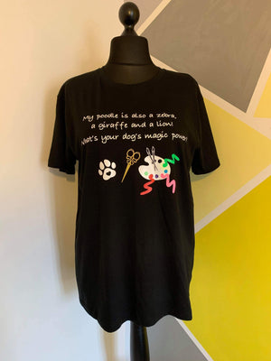 Unique Custom Made Creative Grooming T-shirt size small