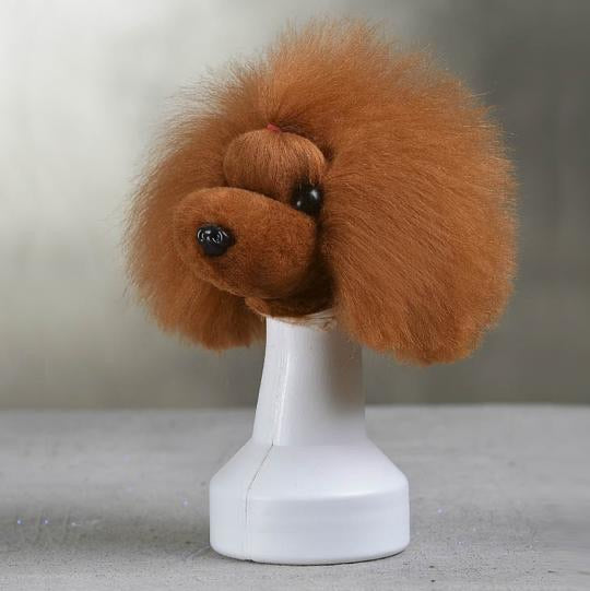 Opawz Model Practice Dog Head Wig Only