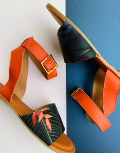 Thick Ankle Strap Sandal
