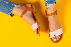 Thin Ankle Strap with Buckle
