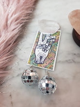 Load image into Gallery viewer, Small Silver Shiny Disco Ball Earrings