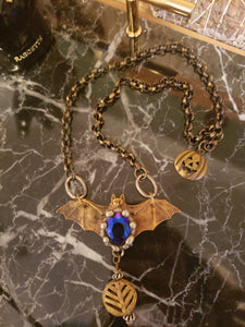 Funky Bat Necklace - Rare & Unique Piece!