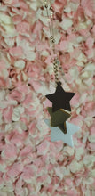 Load and play video in Gallery viewer, Layered Acrylic Star Necklace