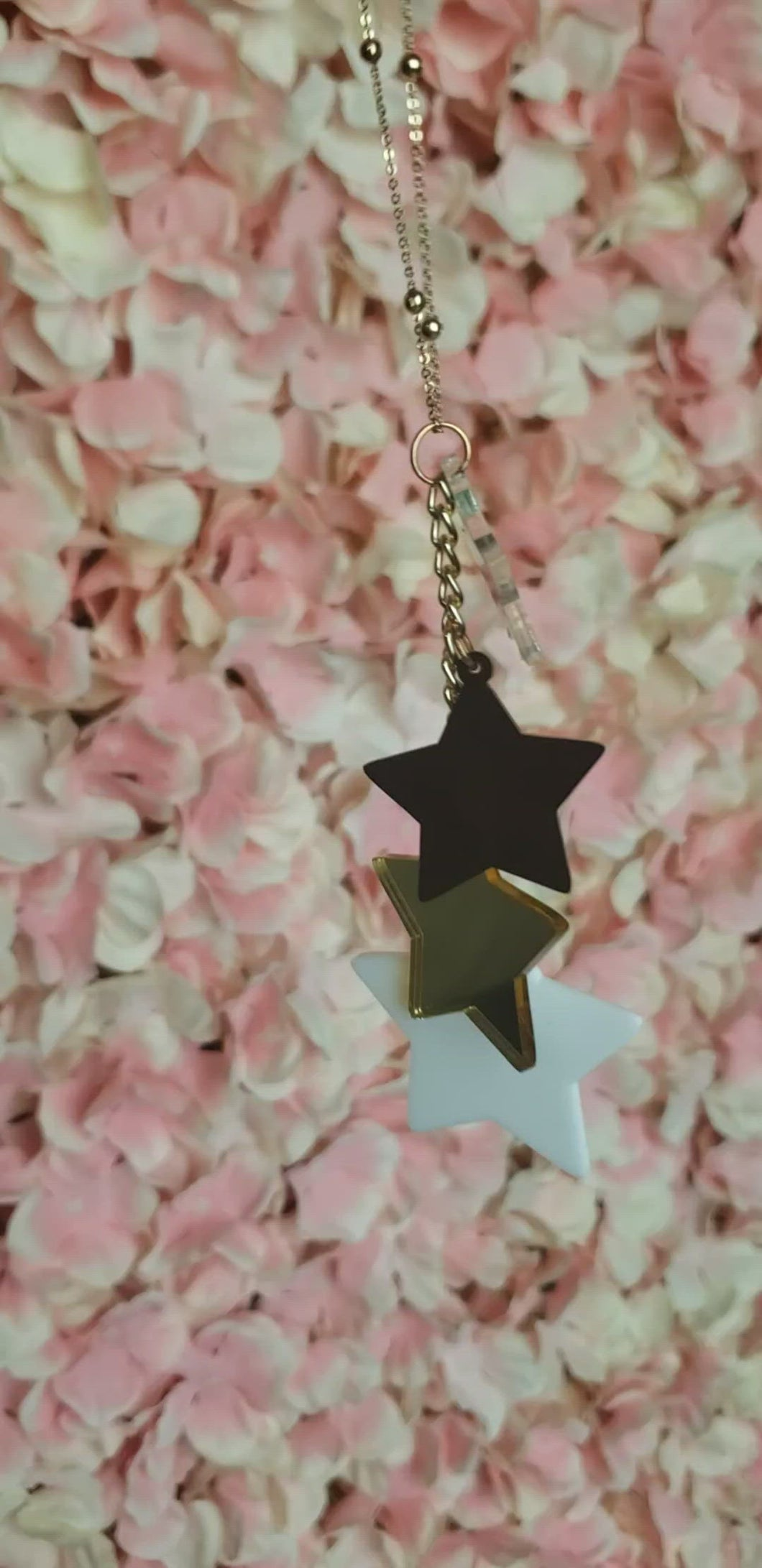 Layered Acrylic Star Necklace