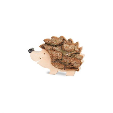 Black Forest Wood Toffee Nose Hedgehog Standing