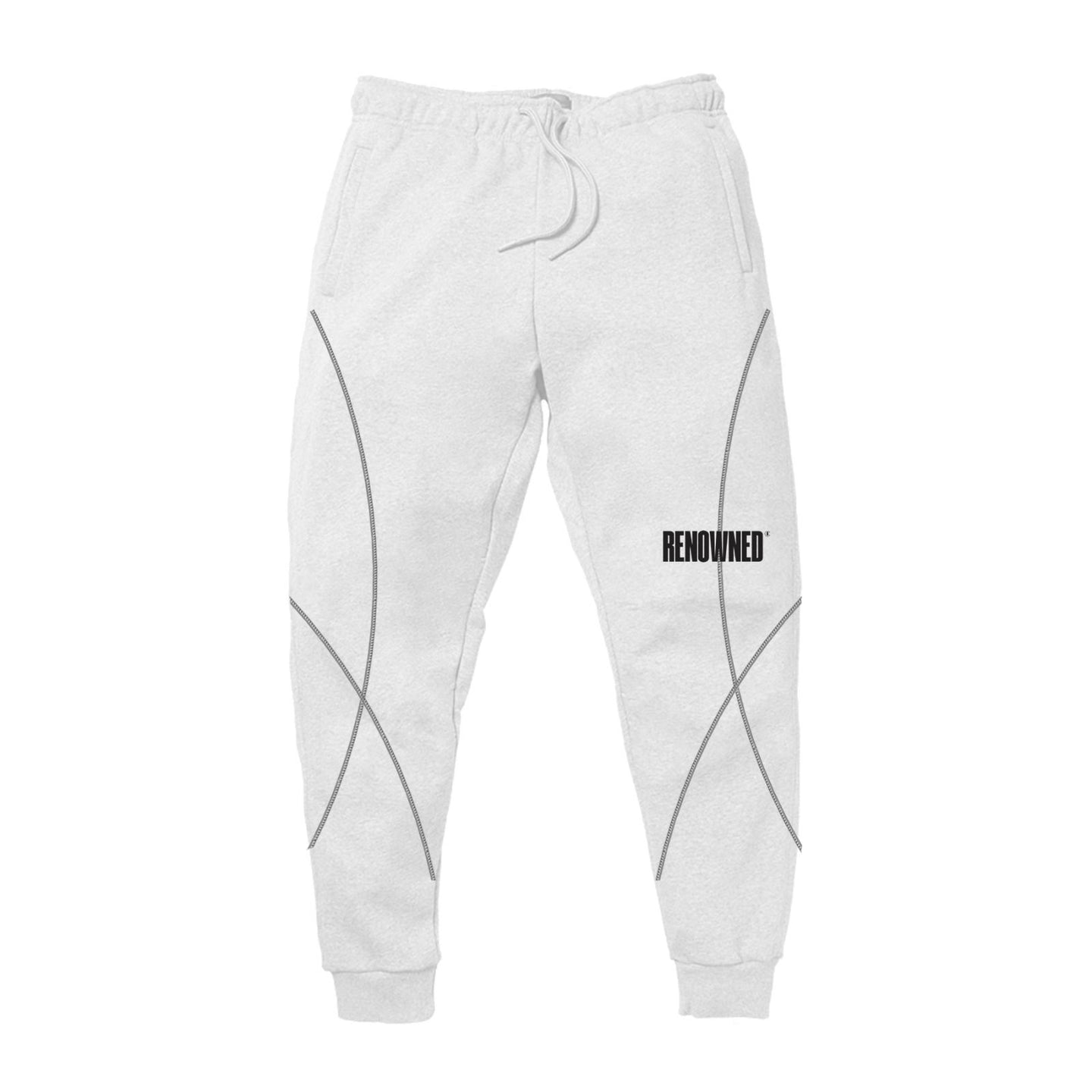 Overlock Logo Sweatpants // Renowned Green Project