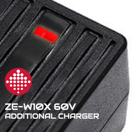 ZERO ESCOOTERS ZE-W10X 60V E-SCOOTER ADDITIONAL CHARGER - Zero E-Scooters