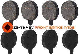 ZERO ESCOOTERS FRONT BRAKE PADS FOR ZE-T9 48V E-SCOOTER - Zero E-Scooters