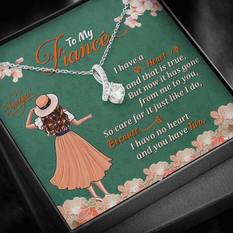 To My Fiance Alluring Beauty Necklace