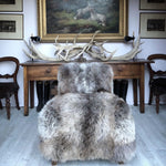 Hector armchair, grey
