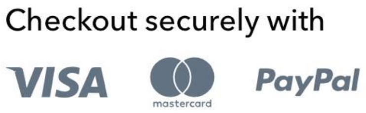 Checkout Securely with creditcard