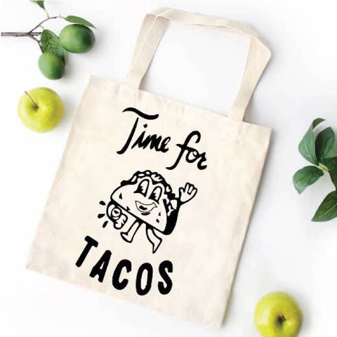 Time for Tacos Tote Bag