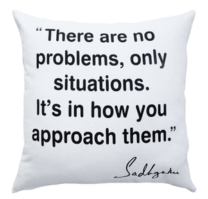 Approach Inspirational Throw Pillow