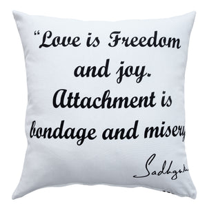Love Inspirational Throw Pillow