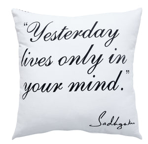 Time Inspirational Throw Pillow
