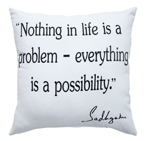 Possibility Inspirational Throw Pillow