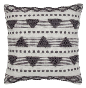 Triangle Triumph Throw Pillow