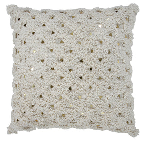 Shimmering Stars Throw Pillow