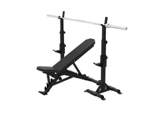 RAPTOR Telescopic squat stand + Multifunctional Bench