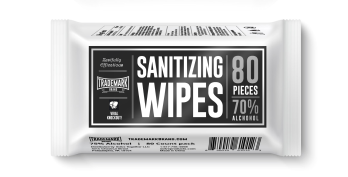 Sanitizing Wipes-Trademark Brands