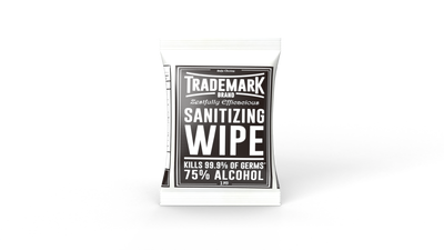 Single-sanitizing-hand-wipe-packet