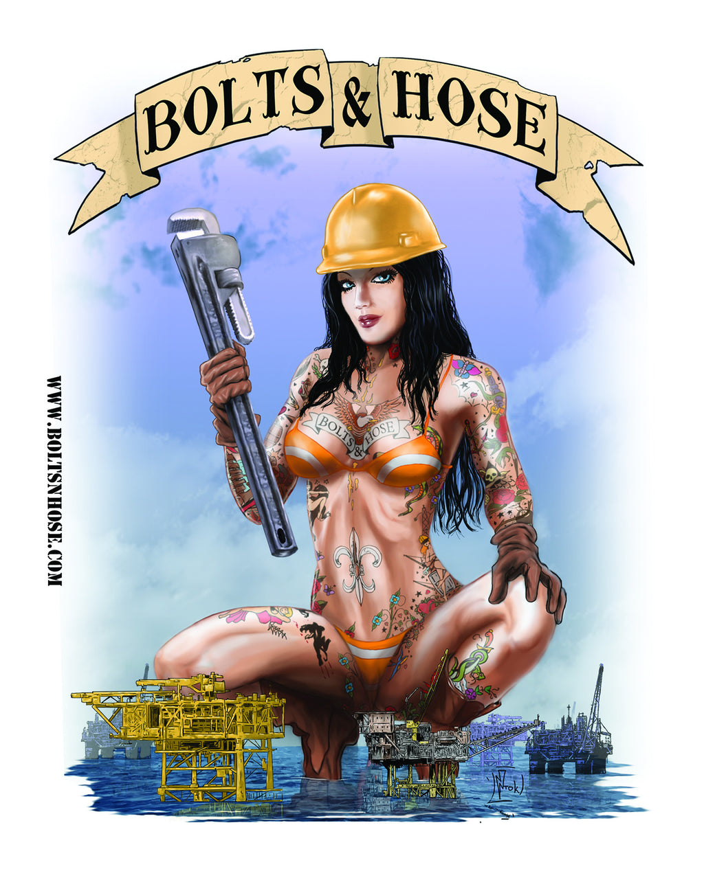 Bolts & Hose™ Giant Poster