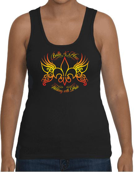 Bolts & Hose Cajun Butterfly Tank Top