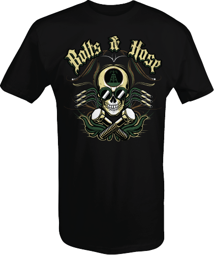 Bolts & Hose Skull Design