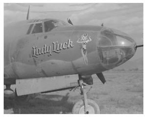 Lady Luck WWII Nose Art