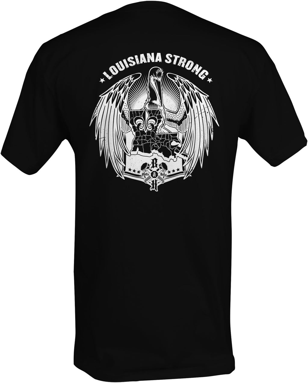 Louisiana Strong (Men's Regular Tee White)